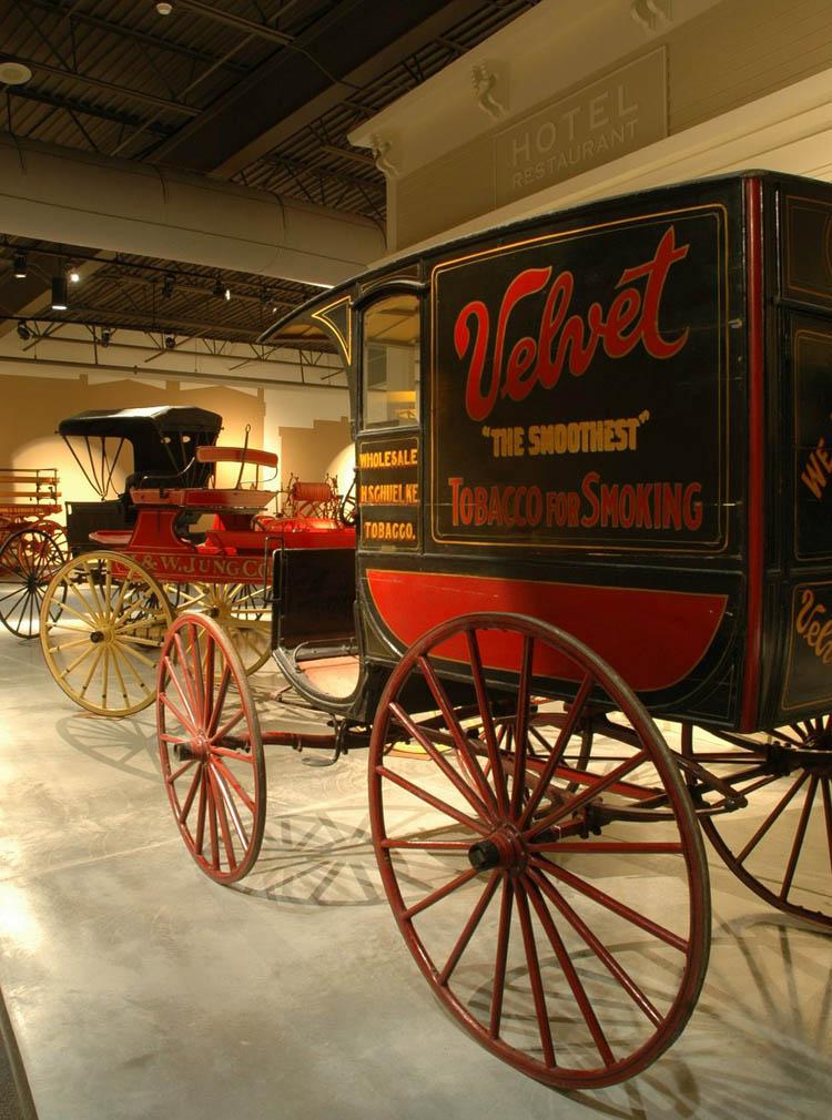 Historic Wagon at Wade House